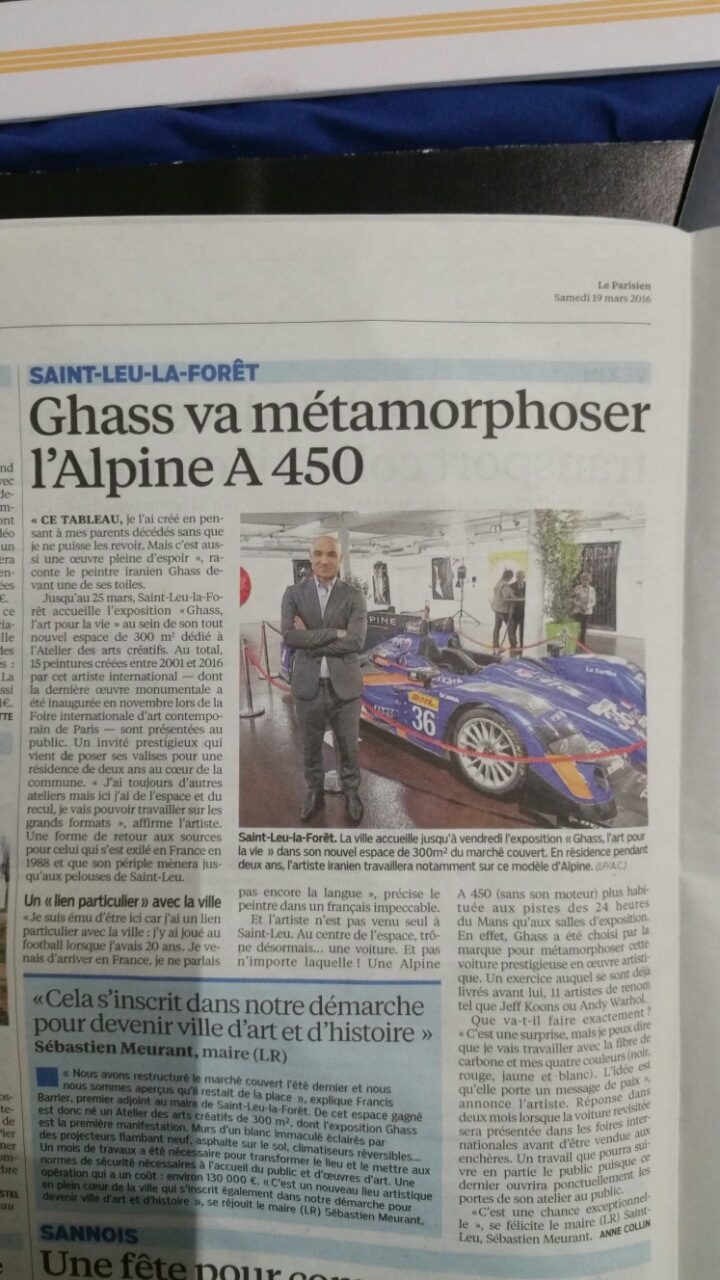 Article Parisien Ghass