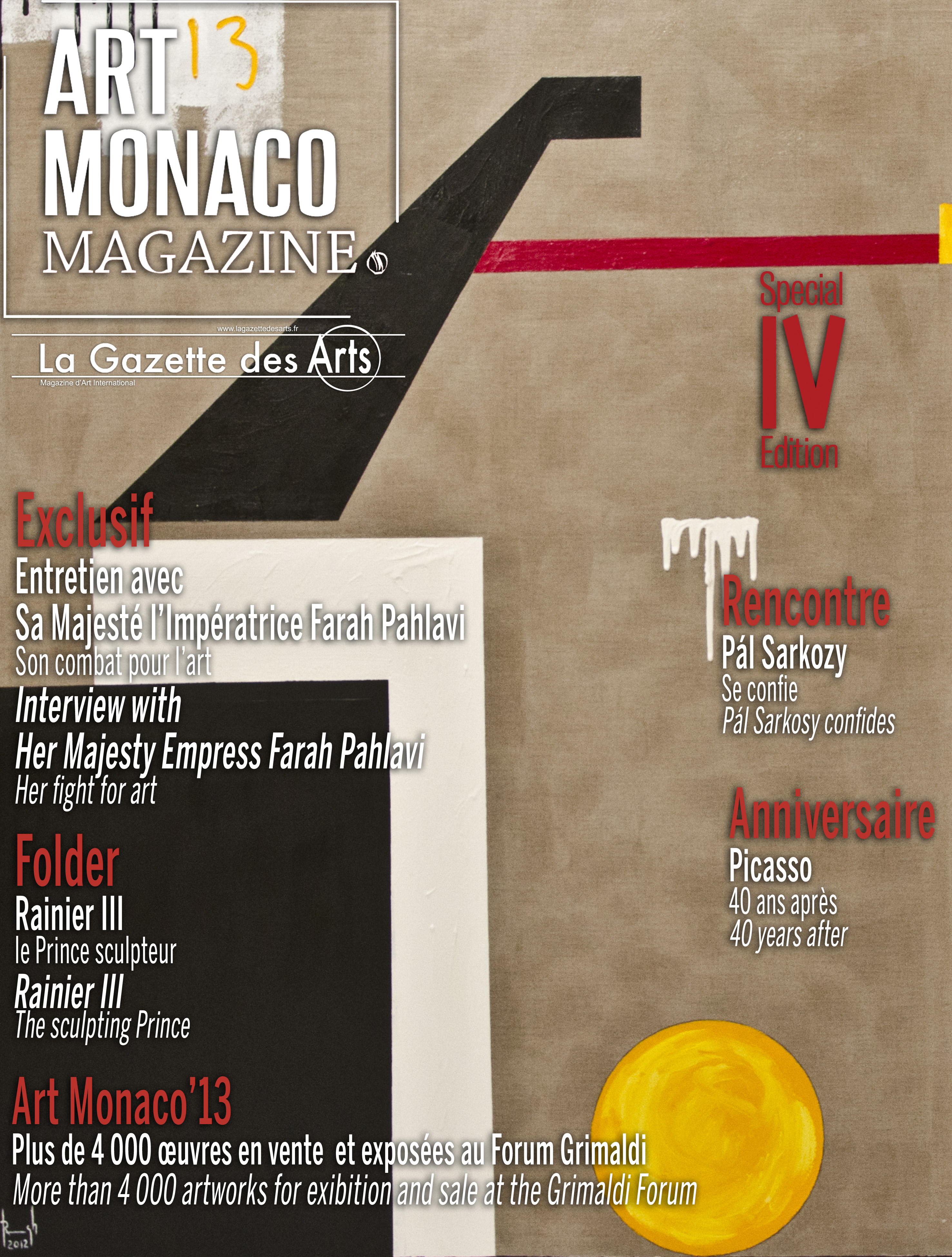 Monaco Art Magazine by Ghass