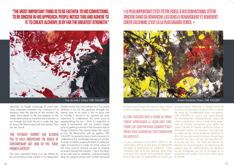 Artabazos Magazine Dubai