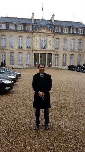 Golan Rouzkhosh au Palais Elysée