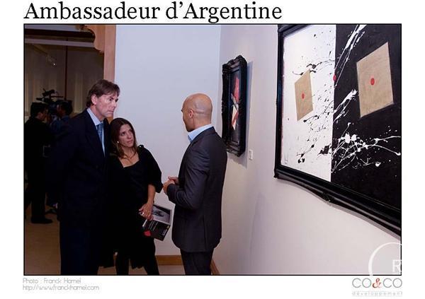 Ambassadeur Argentine- Ghass