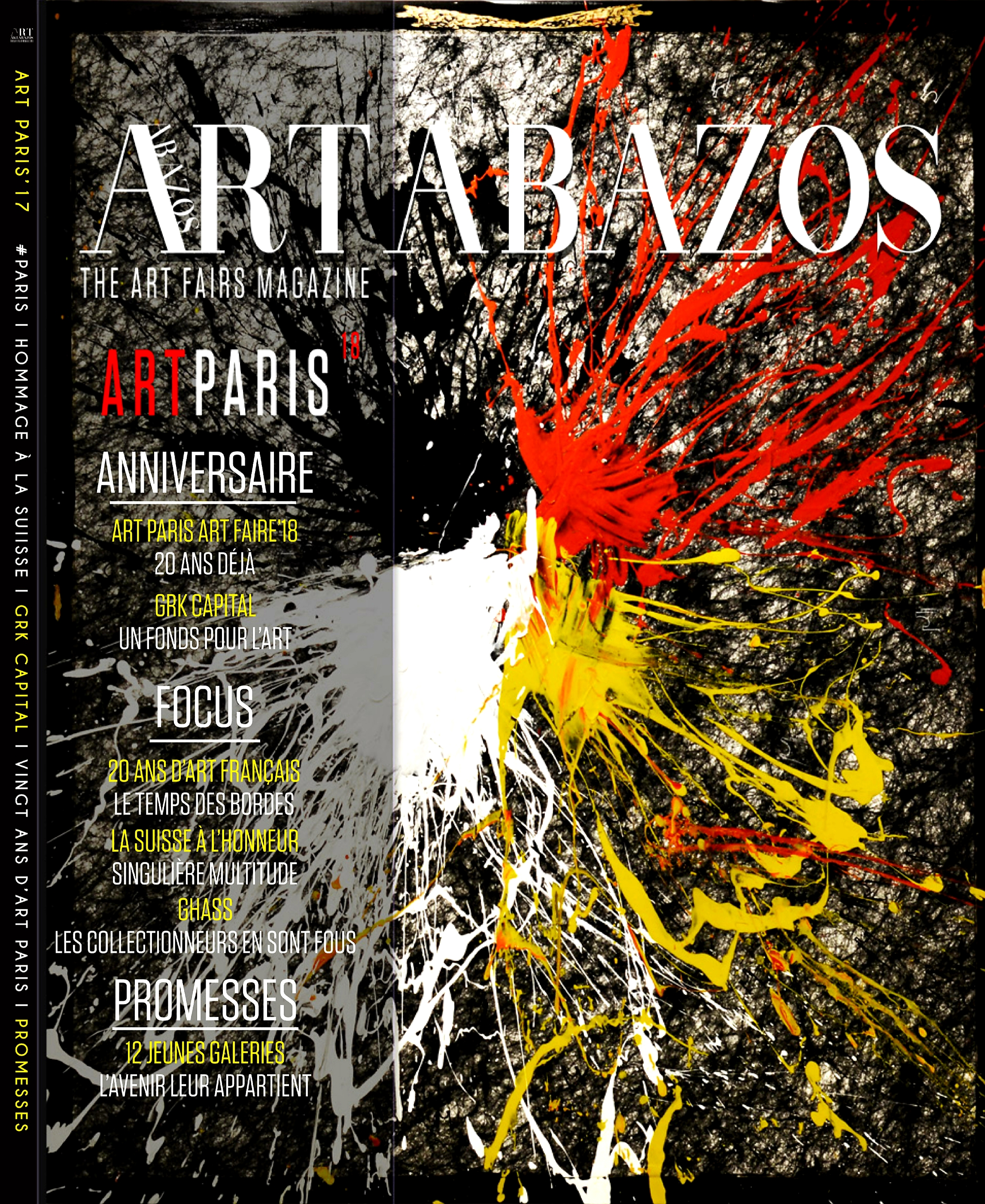 Art Paris - magazine - ghass couverture