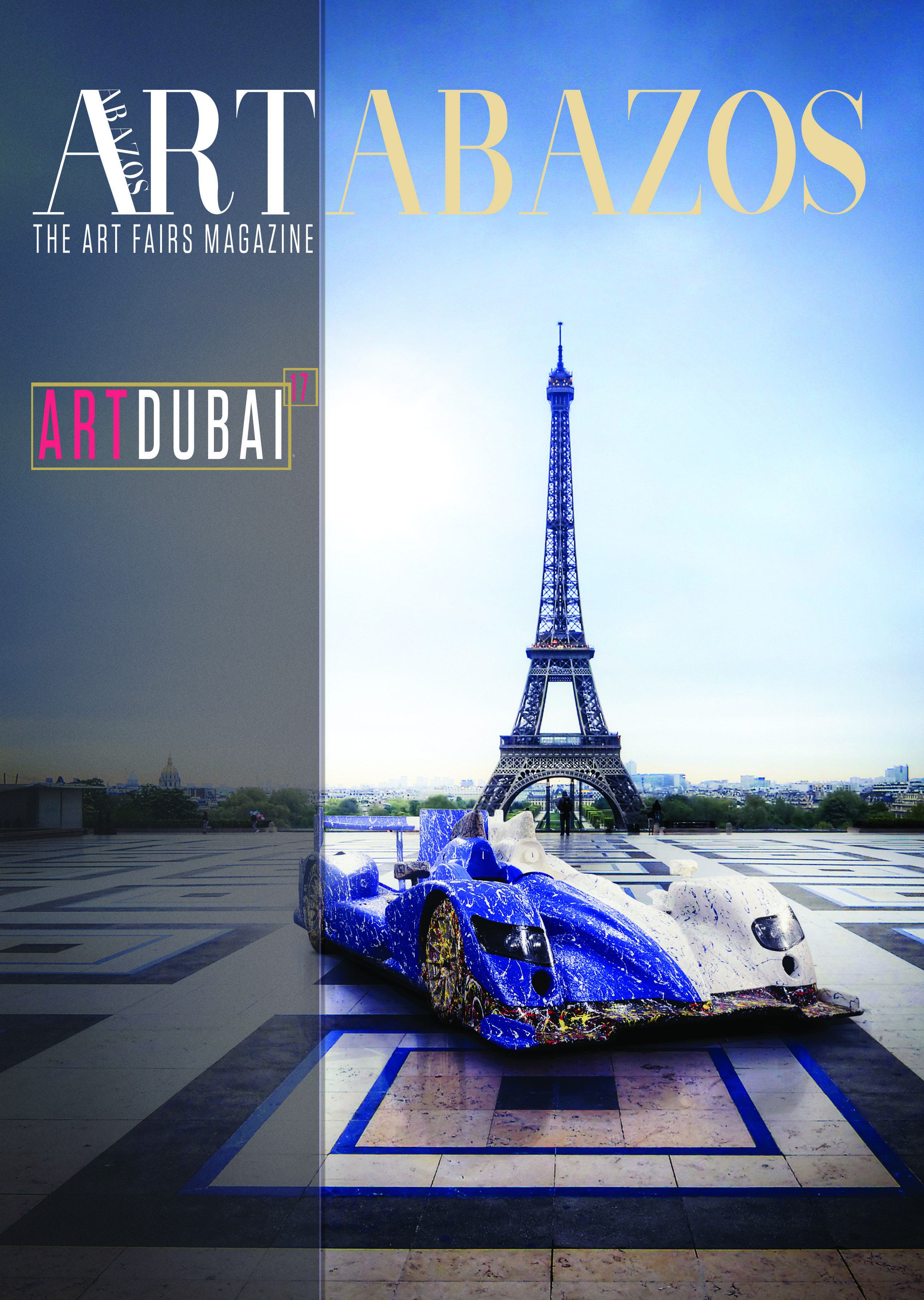 Art Dubai Magazine Cover by Ghass