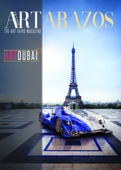 Art Dubai Magazine Cover by Ghass