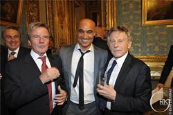 Ministre des affaires étrangères Bernard Kouchner - Ghass - Roman Polanski