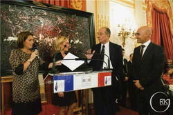 Réception Président Chirac - Ghass