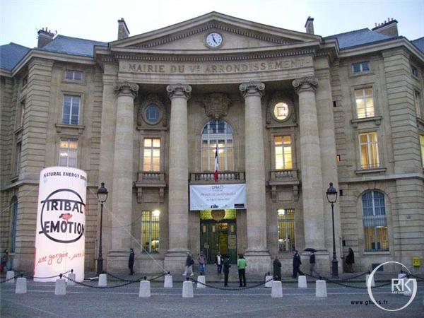 Mairie Vème Exposiiton