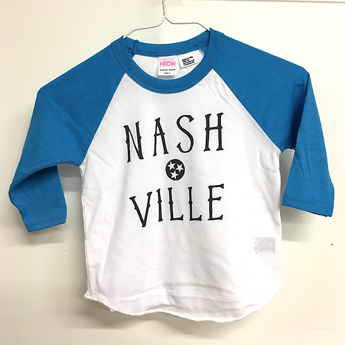 Nashville Tristar Toddler Baseball Tee