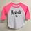 Thumbnail: Nashville Script Toddler Baseball Tee