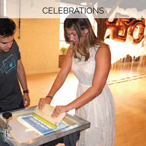 Treat your guests with a hands-on swag bar at your birthday, reception, bat/bar mitzvah, and more!