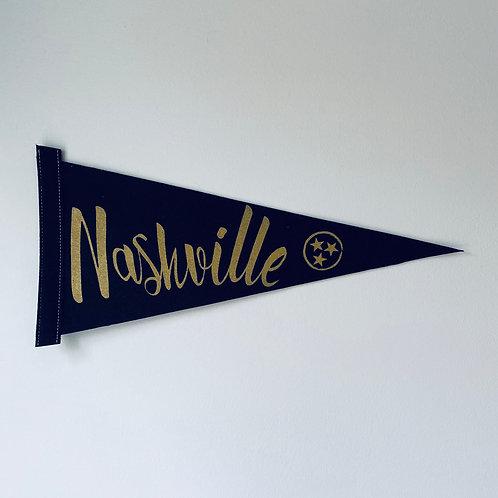 Nashville Pennant Flag