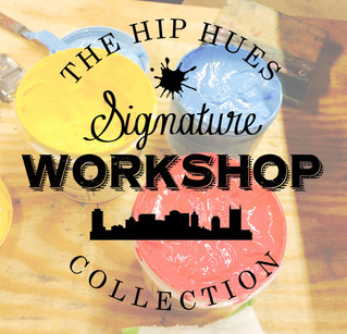 Introducing the Hip Hues signature workshop collection