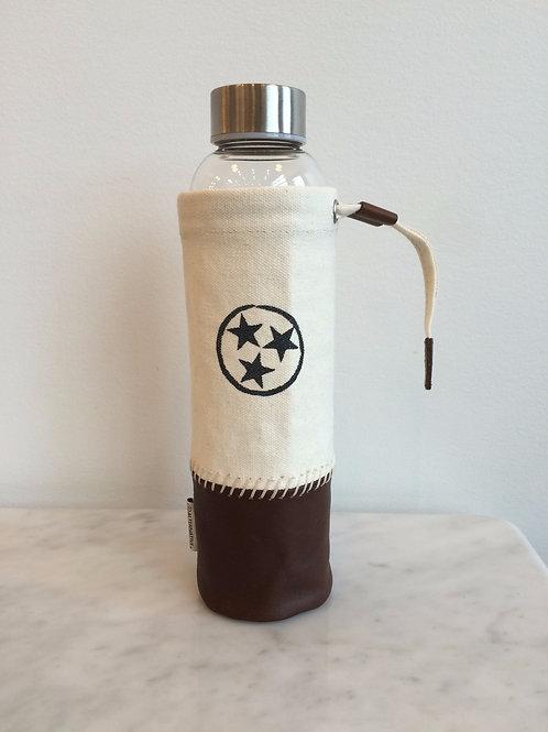 Tri-Star Water Bottle w/Pouch