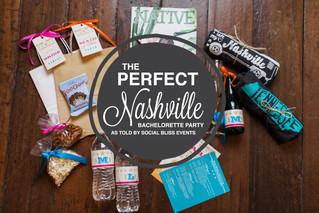 The Perfect Nashville Bachelorette Party, as told by Social Bliss Events