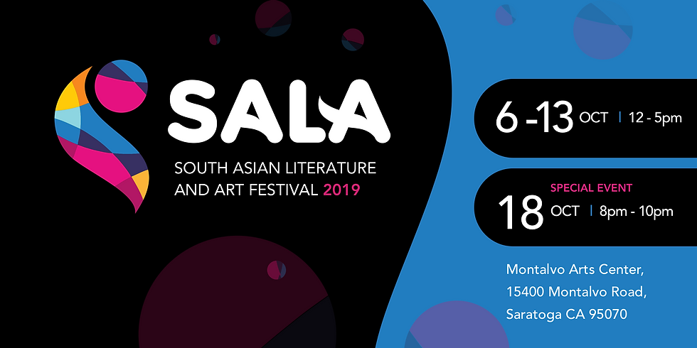 South Asian Literature and Art Festival 2019 at Montalvo