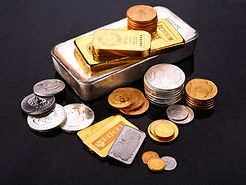 gold silver bars and coins .jpg