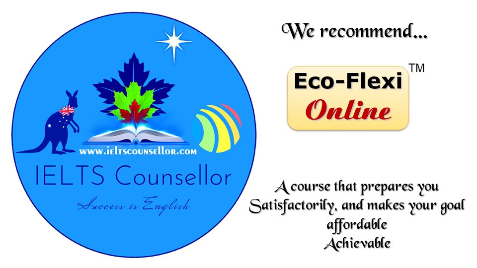 IELTS Counsellor's Eco-Flexi Online