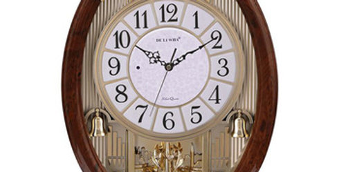 Wall Clock - Quartz with Alarms