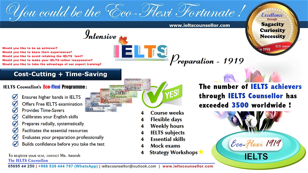 IELTS Fee, IELTS examination Fee, IELTS Test Fee