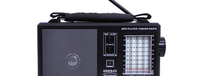 GEEPAS Multi-Channel Transistor (Radio)