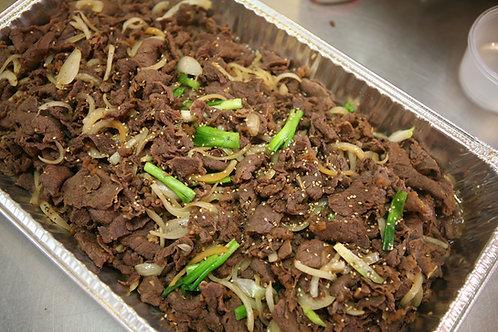 Beef  bulgogi 소 불고기