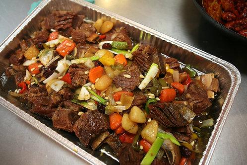 Beef short rib stew 갈비찜