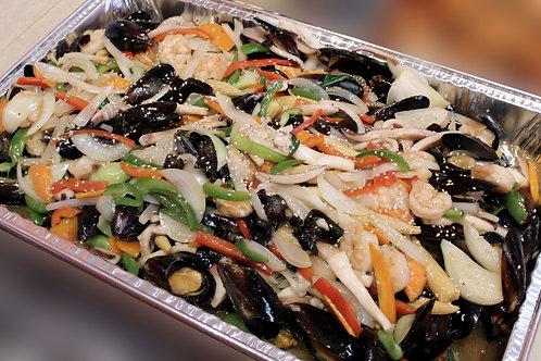 Pan fry sea food 중화풍 해물 복음