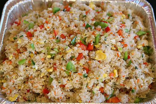 Veggie Pan fry  rice 야채 복음밥