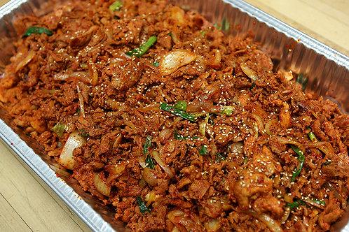 Spicy pork bulgogi 돼지 불고기