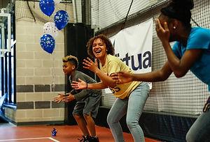 Total Turf Philadelphia 76ers Camp Celebration