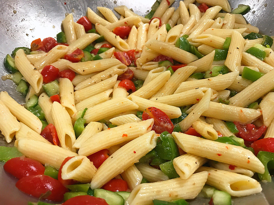 614 Grille Pasta Salad at Total Turf