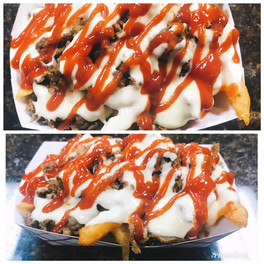 614 Grille Loaded Cheesesteak Fries