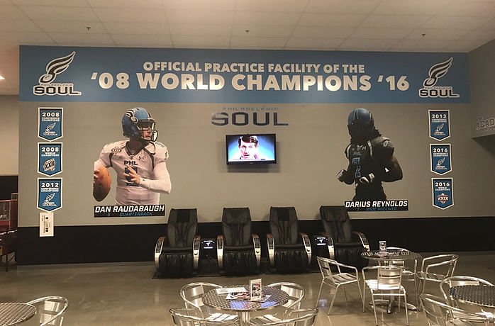 Total Turf Experience Indoor Outdoor Sports Complex Turf Fields Basketball Courts Philadelphia Soul Practice Facility