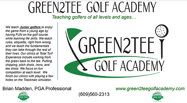 Green2Tee Golf Academy Total Turf