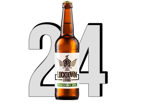 24 pack - Freedom IPA (330ml)