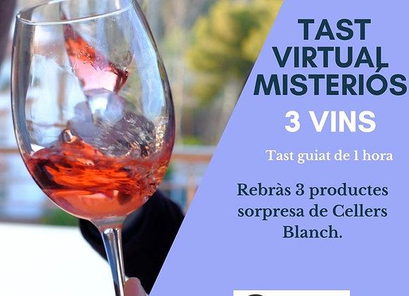 TAST VIRTUAL MISTERIÓS - 3 Vins