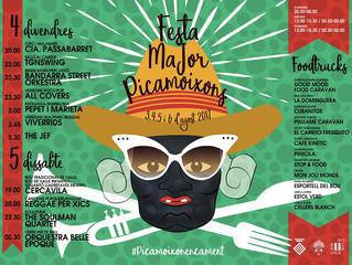Festa Major a Picamoixons (04-05-06 d'agost 2017)