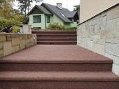 Eramu välistrepi katteplaadid - valmistamine, vana trepikatte eemaldamine ja astmete ning varvaslaudade paigaldus
