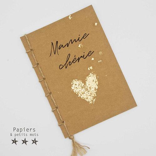 Carnet Mamie chérie