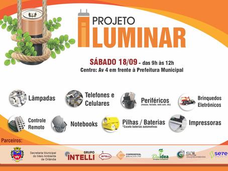 DIA 18.09.21 em Orlândia Projeto Iluminar
