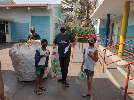 Escolas de Barretos engajadas no Programa  Socioambiental DAidea