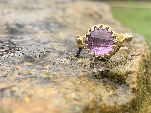 Amethyst Crown ring
