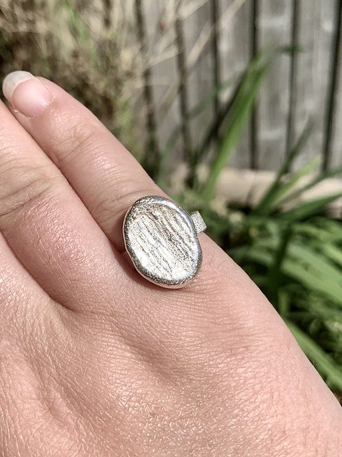 Oval Nugget Ring