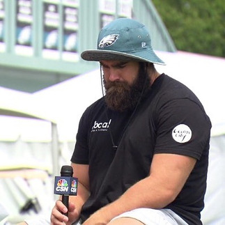#jasonkelce's tees are printed by #plyle