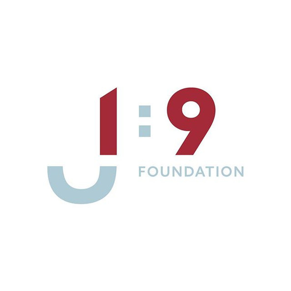 A logo for the kids. J 1 9 Foundation pr