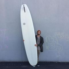 Longboard so white, it's always trying t