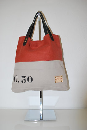 sac a mains C30 lin orange