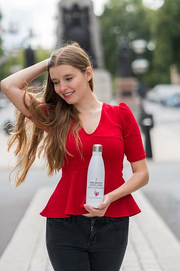 This Bottle Saves Lives. A 500ml Reusable Bottle by Wittenhearst