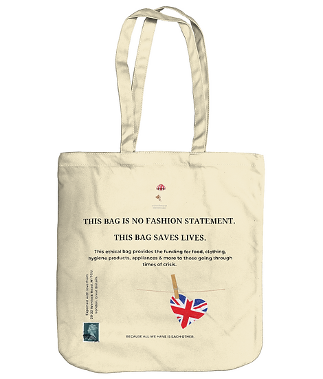 This Bag is No Fashion Statement. A Tote Bag by Wittenhearst