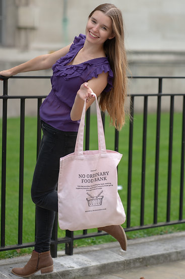 No Ordinary Tote. A Tote by Wittenhearst - Pastel Pink